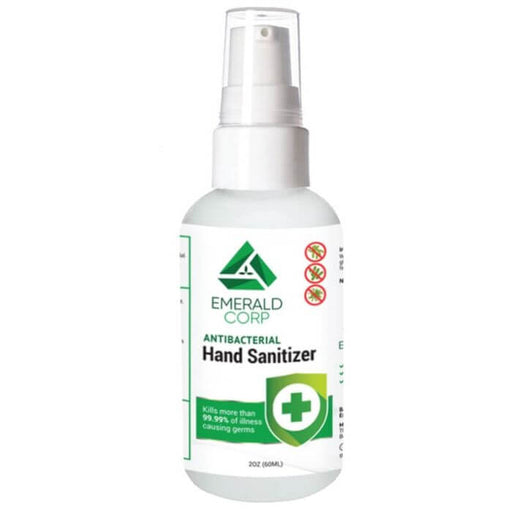Emerald Corp Spray Antibacterial Hand Sanitizer- VapeRanger Wholesale eLiquid/eJuice