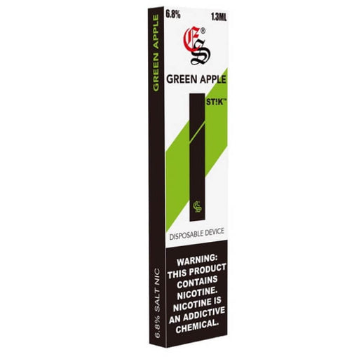 Eonsmoke Green Apple Stik Disposable Device- VapeRanger Wholesale eLiquid/eJuice
