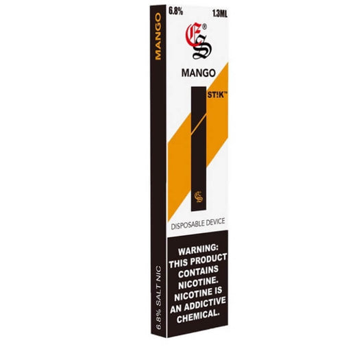 Eonsmoke Mango Stik Disposable Device- VapeRanger Wholesale eLiquid/eJuice