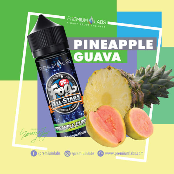 Pineapple Express by Dr. Fog's All Stars eJuice Wholesale eLiquid | eJuice Wholesale VapeRanger