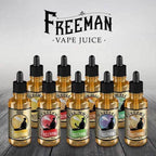 Freeman Vape Juice E-Juice Sample Pack eLiquid by Freeman Vape Juice E-Juice - eJuice Wholesale on VapeRanger.com