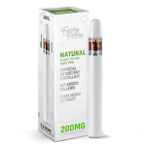 Funky Farms CBD Natural Disposable Vape Pen- VapeRanger Wholesale eLiquid/eJuice