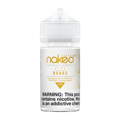 Banana by Naked 100 Cream E-Liquid- VapeRanger Wholesale eLiquid/eJuice