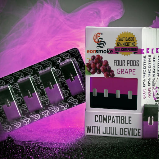 Eonsmoke Grape Nicotine Salt Pods- VapeRanger Wholesale eLiquid/eJuice