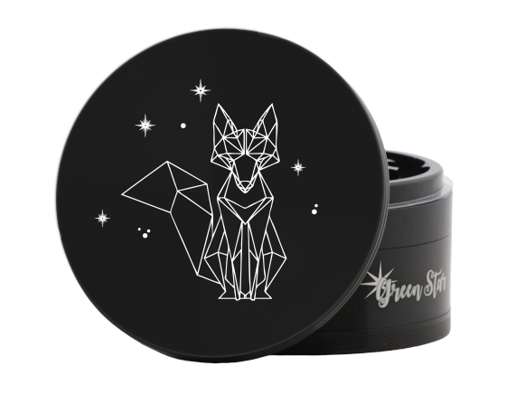 Green Star Fancy Fox Herbal Jumbo Size Grinder