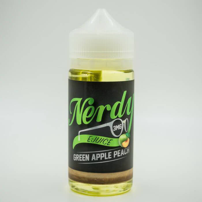 Green Apple Peach by Nerdy eJuice