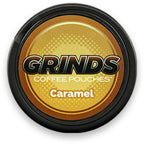 Caramel by Grinds Coffee Pouches eLiquid by Grinds Coffee Pouches - eJuice Wholesale on VapeRanger.com