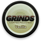 Vanilla by Grinds Coffee Pouches eLiquid by Grinds Coffee Pouches - eJuice Wholesale on VapeRanger.com