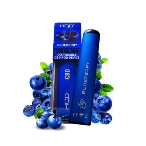 HQD CBD Blueberry Disposable Device- VapeRanger Wholesale eLiquid/eJuice