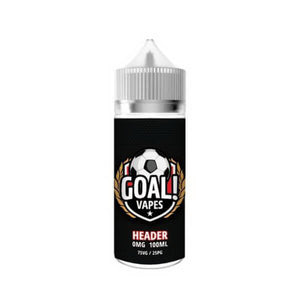 Header by Goal Vapes eJuice eLiquid by Goal Vapes eJuice - eJuice Wholesale on VapeRanger.com