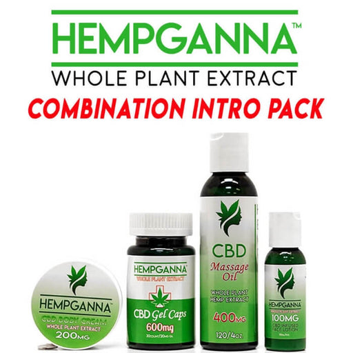Hempganna CBD Combination Intro Pack- VapeRanger Wholesale eLiquid/eJuice