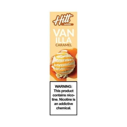 Hitt Go Vanilla Caramel Disposable Device- VapeRanger Wholesale eLiquid/eJuice
