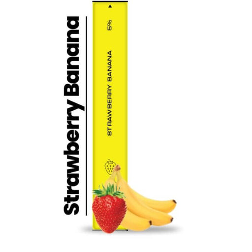 Hyppe Bar Strawberry Banana Disposable Device- VapeRanger Wholesale eLiquid/eJuice
