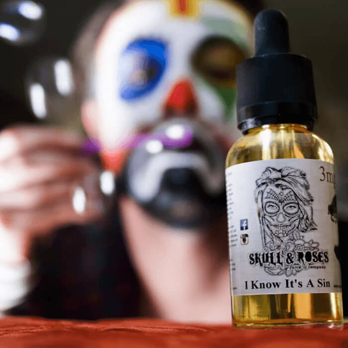 I Know It's a Sin by Skull & Roses Juice Co. eJuice Wholesale eLiquid | eJuice Wholesale VapeRanger