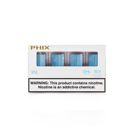Ice Tobacco Pods by Phix Vapor (4 Pack) (CA-Tax)- VapeRanger Wholesale eLiquid/eJuice