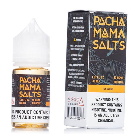 Icy Mango by Pachamama Nicotine Salt E-Liquids- VapeRanger Wholesale eLiquid/eJuice
