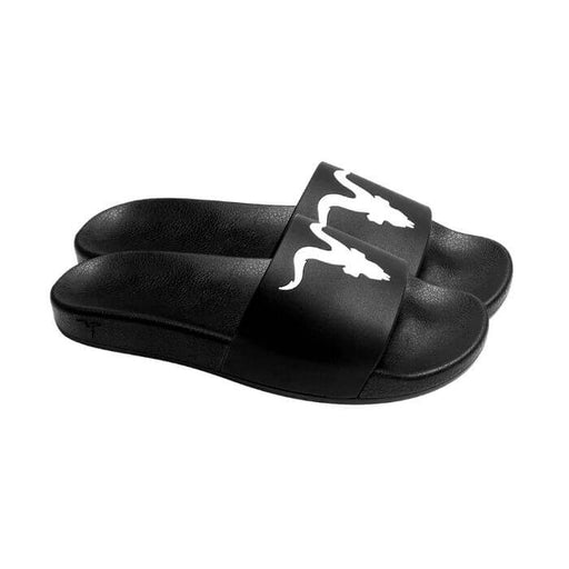 Ignite Apparel Mens Black Slides White Logo- VapeRanger Wholesale eLiquid/eJuice