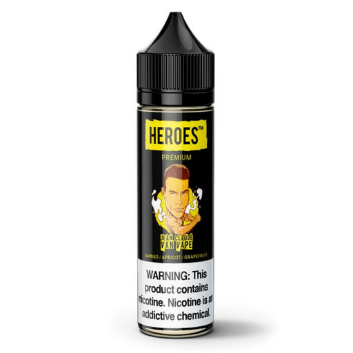 Jean Claude Van Vape by Heroes Premium E-Liquid- VapeRanger Wholesale eLiquid/eJuice