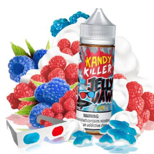 Jelly Jaws 3D by Kandy Killer E-Liquid- VapeRanger Wholesale eLiquid/eJuice