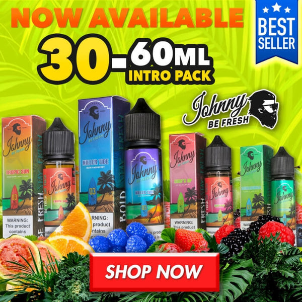 Johnny Be Fresh E-Liquid Intro Pack #1
