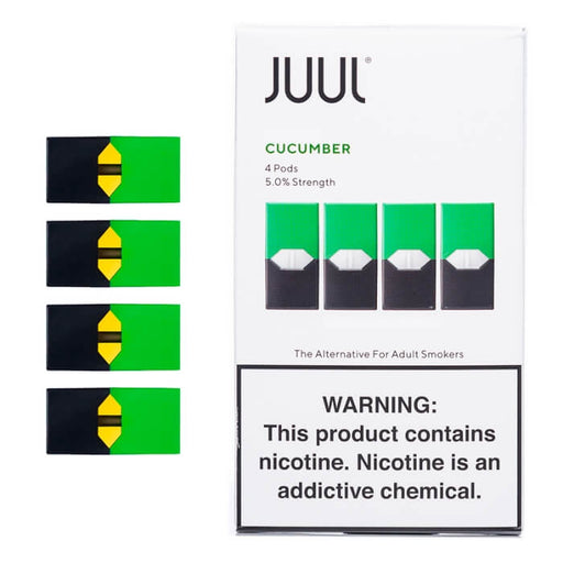JUUL Cucumber Pods (4-Pack)- VapeRanger Wholesale eLiquid/eJuice