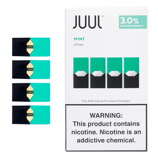 JUUL Mint Pods [3% Nic] (4-Pack)- VapeRanger Wholesale eLiquid/eJuice