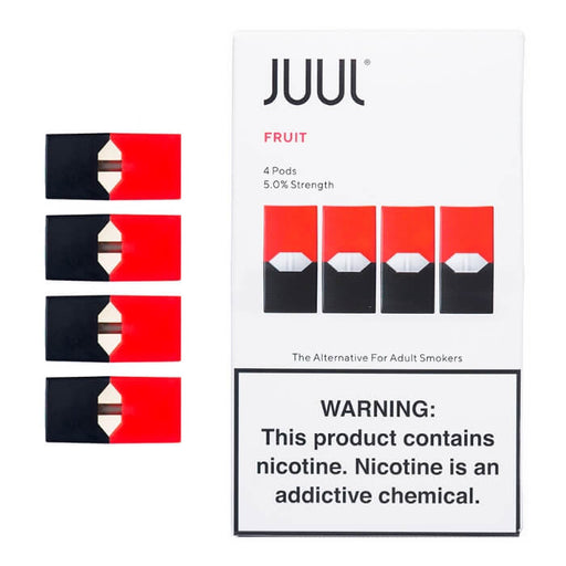 JUUL Fruit Pods (4-Pack)- VapeRanger Wholesale eLiquid/eJuice