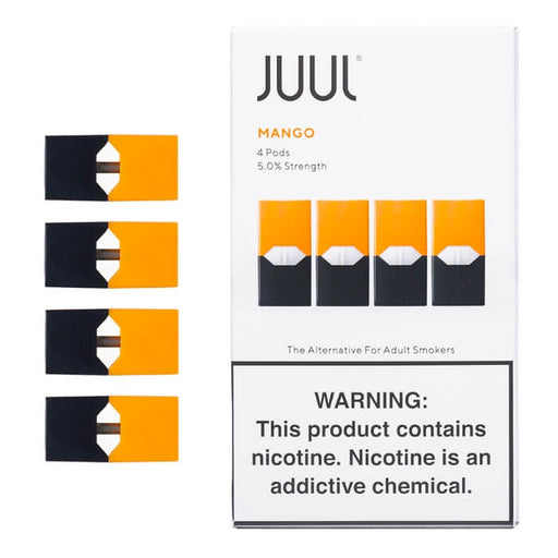JUUL Mango Pods [5% Nic] (4-Pack)- VapeRanger Wholesale eLiquid/eJuice