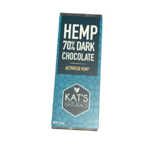 Kat's Naturals Hemp Dark Chocolate Bar- VapeRanger Wholesale eLiquid/eJuice