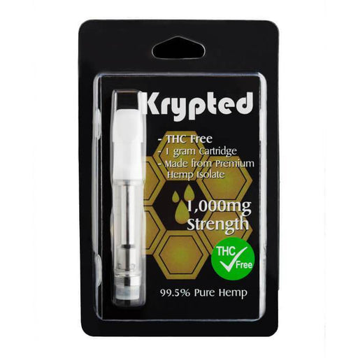 Krypted CBD White Peach CBD Cartridge- VapeRanger Wholesale eLiquid/eJuice