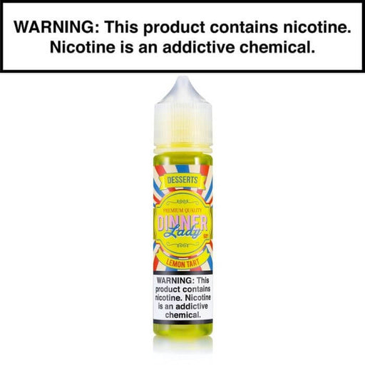 Lemon Tart by Vape Dinner Lady E-Liquid- VapeRanger Wholesale eLiquid/eJuice