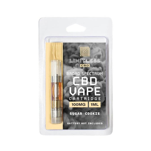 Limitless CBD Sugar Cookie Vape Catridge- VapeRanger Wholesale eLiquid/eJuice