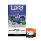 Loon Pods Ice Blueberry Bliss (5-Pack) eLiquid by Loon Pods - eJuice Wholesale on VapeRanger.com