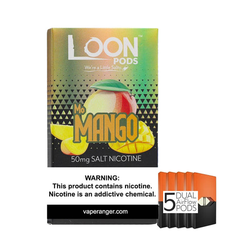 Loon Pods Mo Mango (5-Pack)- VapeRanger Wholesale eLiquid/eJuice