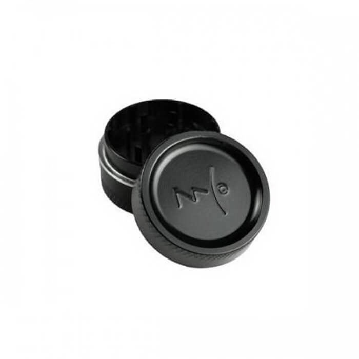 Magic Flight 2-Piece Mini Nano Metal Grinder (Black) Wholesale eLiquid | eJuice Wholesale VapeRanger