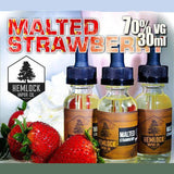 Malted Strawberry by Hemlock Vapor Company #1