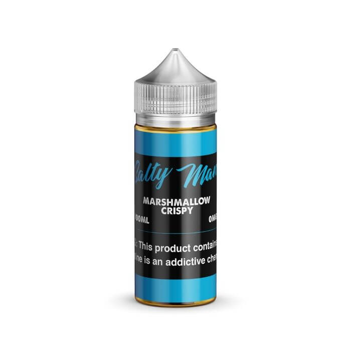 Marshmallow Crispy by Salty Man Vapor eJuice