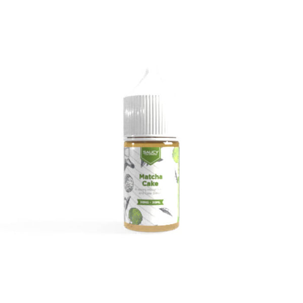 Matcha Cake by Saucy Nicotine Salt E-Liquid #1