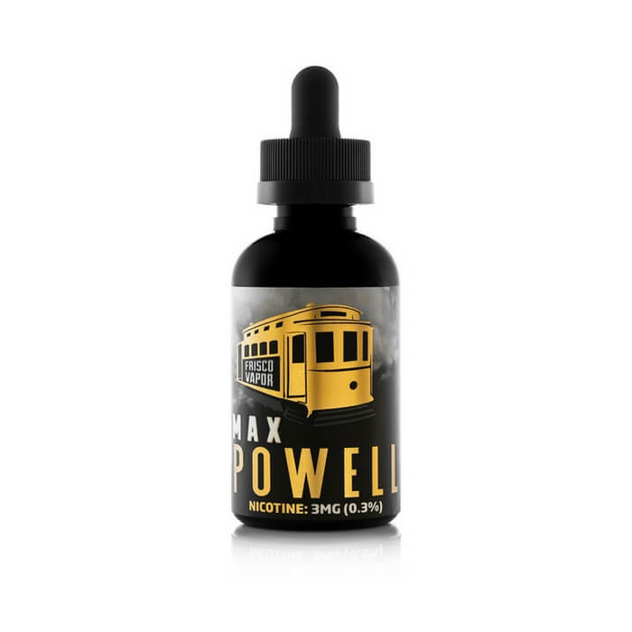 Max Powell by Frisco Vapor eJuice #1
