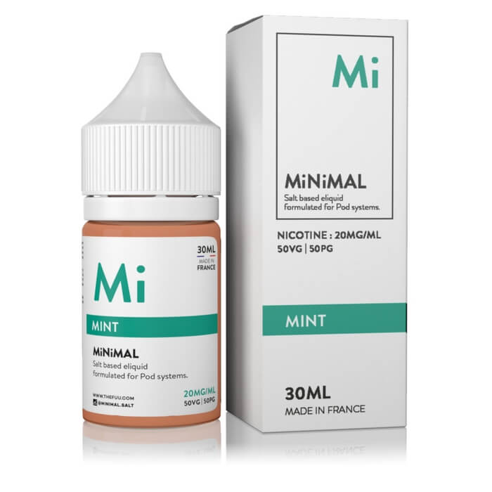 Mint by MiNiMAL Nicotine Salt E-Liquid