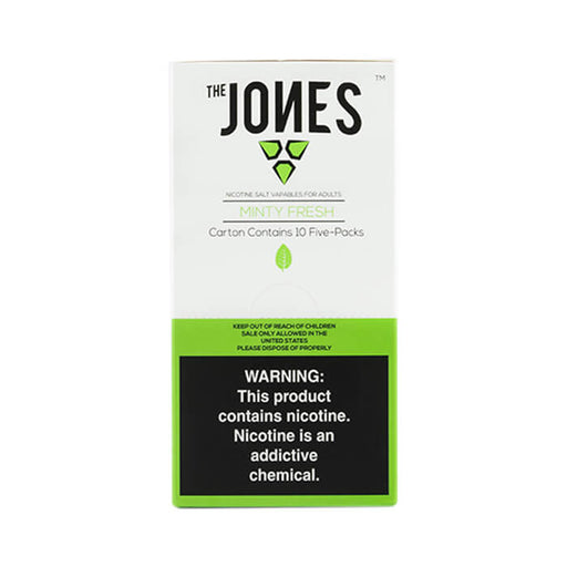 The Jones Pods Minty Fresh- VapeRanger Wholesale eLiquid/eJuice