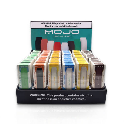 Mojo Disposable Pod Device Fully Loaded Display- VapeRanger Wholesale eLiquid/eJuice