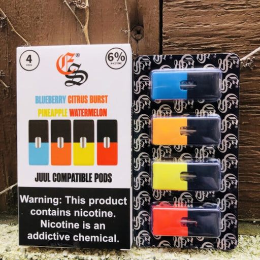 Eonsmoke MultiPack Nicotine Salt Pods- VapeRanger Wholesale eLiquid/eJuice