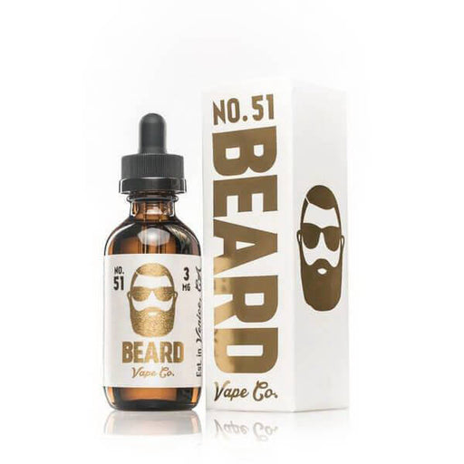No. 51 by Beard Vape Co eJuice - Unavailable- VapeRanger Wholesale eLiquid/eJuice