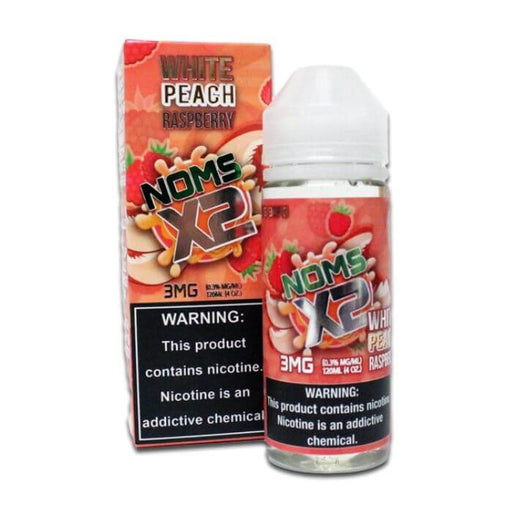 Noms X2 White Peach Raspberry by Nomenon E-Liquid- VapeRanger Wholesale eLiquid/eJuice