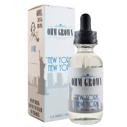 New York New York by Ohm Grown Vapor Co.- VapeRanger Wholesale eLiquid/eJuice
