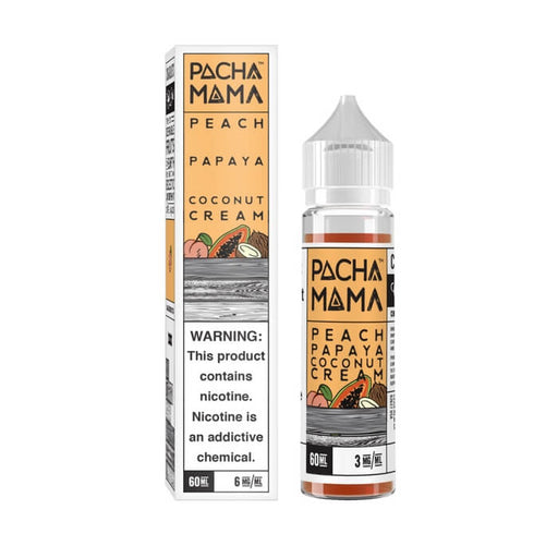 Peach Papaya Coconut Cream by Pachamama E-Liquids- VapeRanger Wholesale eLiquid/eJuice