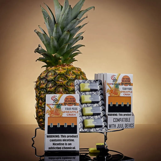 Eonsmoke Pineapple Nicotine Salt Pods- VapeRanger Wholesale eLiquid/eJuice
