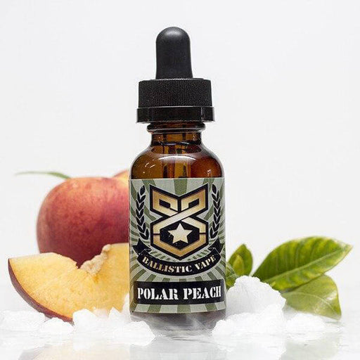 Polar Peach by Ballistic Vape Master Collection- VapeRanger Wholesale eLiquid/eJuice