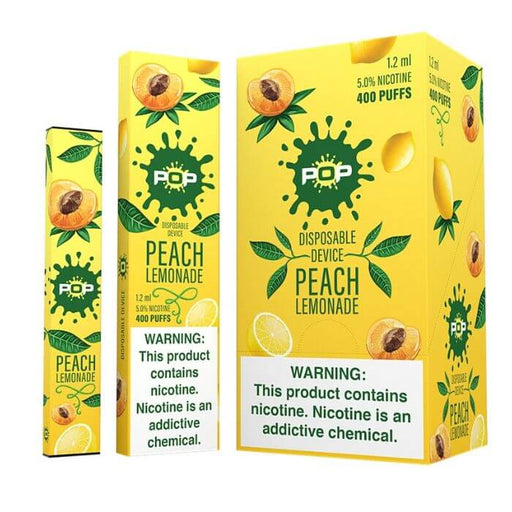 Pop Peach Lemonade Disposable Device- VapeRanger Wholesale eLiquid/eJuice